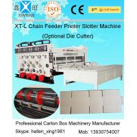 Automatic Corrugated Cardboard Paper Box Making Machine / Carton Production Line