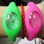 Reloj de 901 silicones con la pulsera de moda