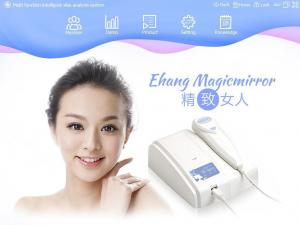 China Skin and hair analyzer professional digital high-definition video 50XP LED UV full spectrum natural light on sale