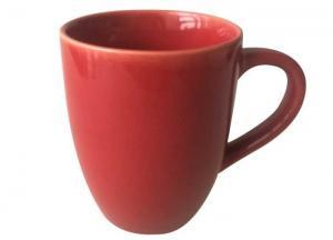 China Durable Microwave / dishwasher safe Handmade ceramic mug Customize color on sale