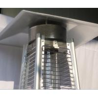 Durable Stand Up Pyramid Outdoor Gas Patio Heater With Flame 8KW Power