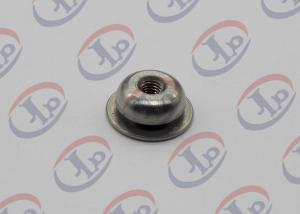 China Lathe Turning CNC Turned Parts 304 Stainless Steel Luck Nuts with M3 Internal Thread on sale