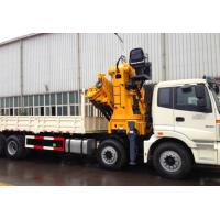20 Ton carbon steel Truck Mounted Crane / hydraulic truck crane XCMG