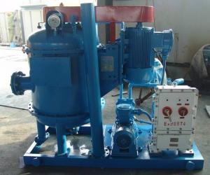 China Dewatering Unit, Horizontal Degasser, Oilfield Drilling Mud Vacuum Degasser on sale