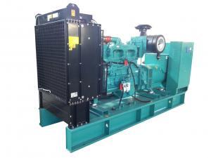 Quality sistema de generador diesel 500kw con el sistema de alarma de Atomatic/la clase H del aislamiento for sale