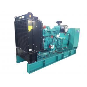 Quality 500kw дизель генераторная установка с автоматической системой сигнализации / класс изоляции H for sale