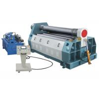 Sheet Metal 4 Roll Plate Rolling Machine , Frequency Sensitive Bending Roll Machine