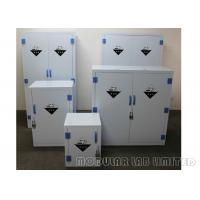 8 10mm Thickness Chemical Storage Cabinets Polypropylene Hinges For Long Life