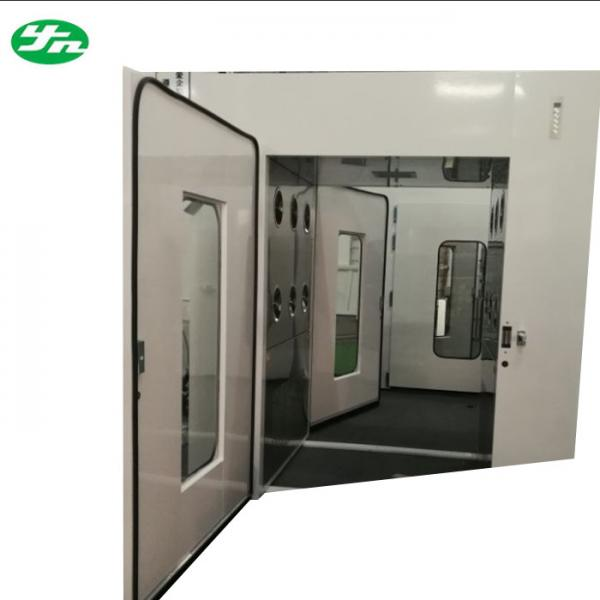 High Performance Air Shower Pass Box Electronic Plant Passing Cabinet Images