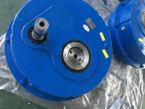 China High Torque Shaft Mounted Gear Reducer Transmission Gearbox TA125 Series Reductor on sale
