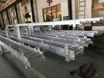 Galvanized Marine Steel Ladder , Boat Boarding Ladders For Vessel Short Delivery