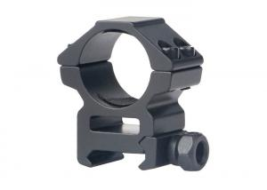 China 25.4mm Mount Tactical Scope Rings Black Color Easy Installation For Hunting on sale