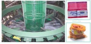 China Saco da malha da gaze de PP/PE que faz a máquina on sale
