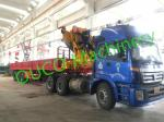 Truck Mounted Knuckle folding foldable Boom Crane telescopic boom crane