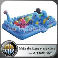 Under sea giant inflatable playgrounds
