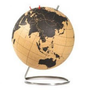Large cork globe for map world diameter 32mm126 for sale cork large cork globe for map world diameter 32mm126 gumiabroncs Images