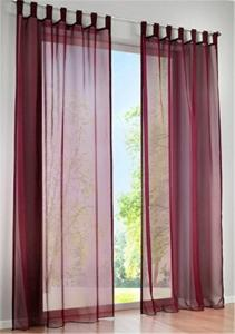 China Shrink Resistant Kitchen Window Curtains , Large Window Curtains Reducing The Sun Shine on sale