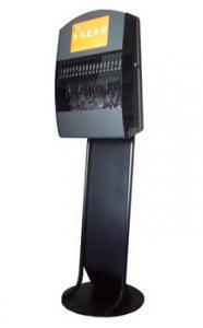 China Floor Standing Charging Stations For Phones 10'' Advertising LCD Coin Note Pay on sale