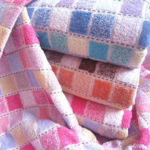 China Hot Sale High Quality Cotton Blankets Jacquard on sale