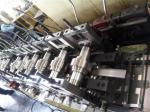 Galvanized Metal Roll Forming Machines / Pallet Rack C Z Purlin Roll Forming Machine