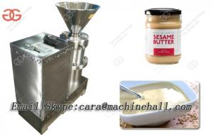 China Best Price Sesame Tahini Grinding Machine|Sesame Butter Grinder Price|Nut Butter Making Machine With Stainless Steel on sale