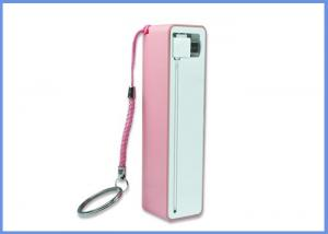 China Safe and Reliable 2600mAh external battery charger for tablet , PSP / Perfume shape on sale
