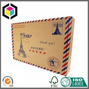 China Standard Size Color Paper Mailing Envelope; Custom Print Color Paper Envelope on sale