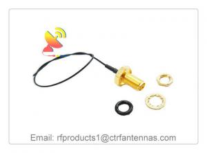 China RF Coax Cable Assembly the RP SMA to U.FL Connector RF coaxial cable assembly Antenna Adapter on sale