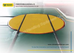 China industrial  rail transport cart running on turntable on sale