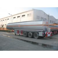25 to 60 CBM Fuel Tank Truck Trailer Aluminum Alloy Stainless Steel Optional