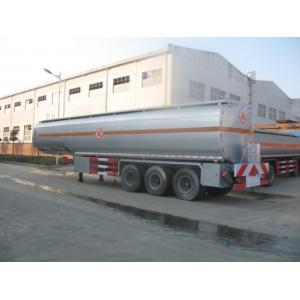 China 25 to 60 CBM Fuel Tank Truck Trailer Aluminum Alloy Stainless Steel Optional on sale