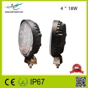 China epistar led square working light,18w led work light spot beam,1350lm led work light flood beam on sale