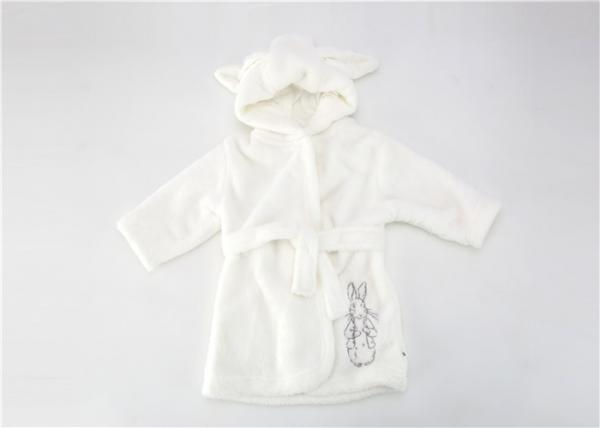 cc88d6ef77 Fluffy Newborn Baby Bath Robes Towel Robe With Hood Super Absorbent Images