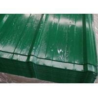 High Grade Steel Corrugated Roofing Sheets , Building Steel Profile Roofing Sheets