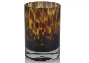 Quality Mouth Blown Votive Candle Jar for sale