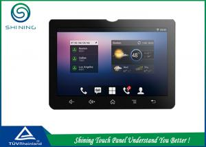 China Black Frame Capacitive Touch Screen Dust Free For Office Video Phone on sale