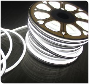 China ultra thin led neon flex neo neon tube light 12v flexible strip 11x18mm 120smd/M waterproof white color ribbon on sale