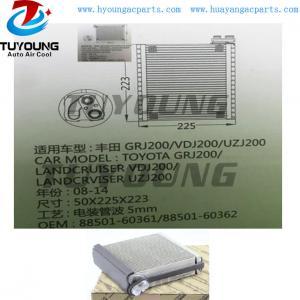 China auto air conditioning evaporator Toyota GRJ200 / Landcruiser VDJ200 UZJ200 88501- 60390 88501- 60361 88501- 60362 on sale