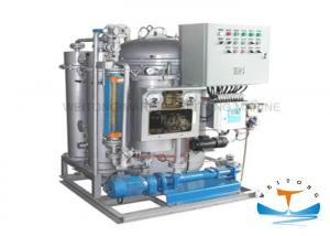 China LCD Display Oily Bilge Water Separator With Fiber Filter And Membrane Permeation on sale