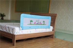 Quality Adjustable Baby Bed Guard Rail 150cm Safe Infant Rails For Sale