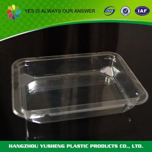 China BOPS / PS Disposable Food Trays Packaging Disposable Party Trays For Fruit on sale