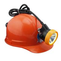 12000 Lux IP65 LED Rechargeable Headlight For Miner , LED Mining Cap Lamp