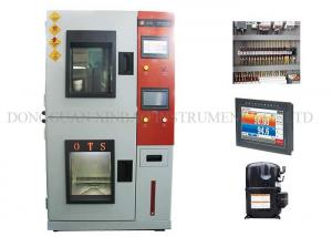 China Heat / Cold Humidity Climatic Test Chamber Double Layers Insulated Airtight Doors on sale