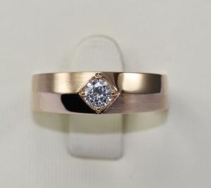China Jsely 18K gold with natural diamond Mens Ring de Triomphe series JSM000894 on sale