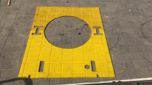 China Drilling Well Platform Rotary Table 83''×75.25'' Oil Rig Mats on sale