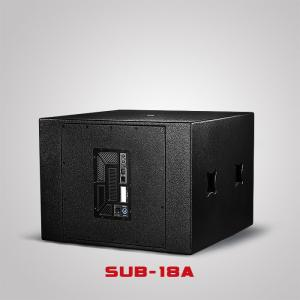 China 18inch Active Subwoofer Wooden Dj Bass Speaker Cabinet Sound System Box SUB-18A on sale