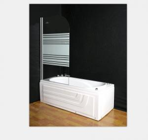 China Glass Screen Shower Door Enclosures 140*120 / 180*80cm Size For Bath Tub on sale