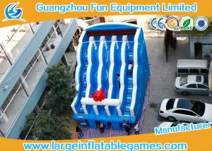 China 0.55mm PVC Tarpaulin Commercial Inflatable Slide , Large Inflatable Water Slide on sale