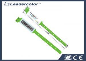 China Custom PVC Waterproof RFID Wristband / RFID Chip Bracelet OEM Printing on sale