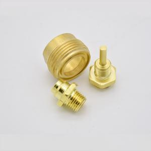 China High Precision Brass Turned Components Parts Customized Size Oem Design on sale